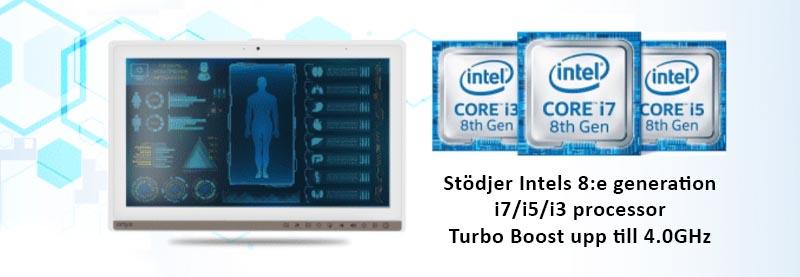 Intels 8:e generation i7 processor