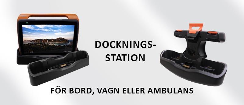 Dockning för bord, vagn eller ambulans