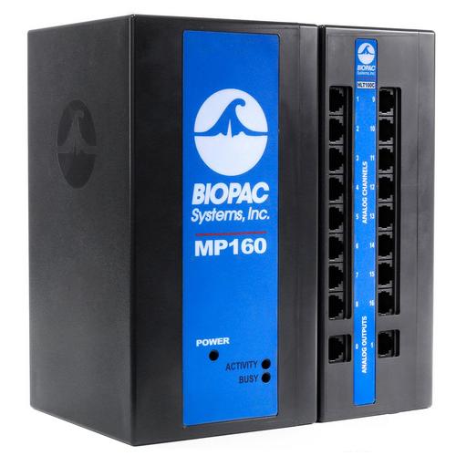 Forskningssystemet MP160 från BIOPAC