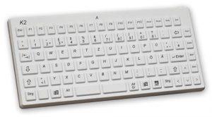 K2-MED tangentbord med kompakt design