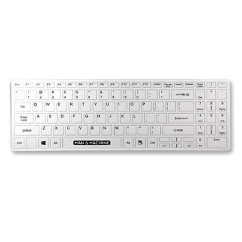 Fullstort tangentbord med avtagbart skal
