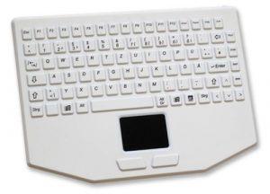 Kompakt tangentbord för vården