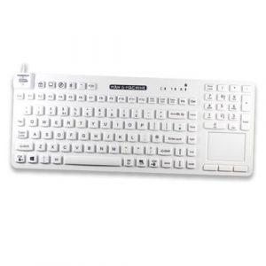 Fullstort tangentbord för vården med många optioner