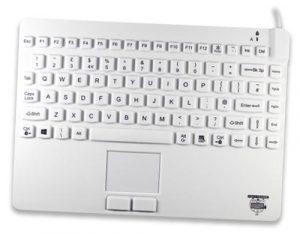 Kompakt tangentbord med styrplatta