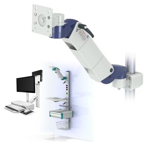 Fasta upphängningar för medicinsk utrustning i vården