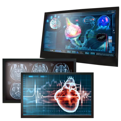Bildskärmar för vården MEDDP-serien