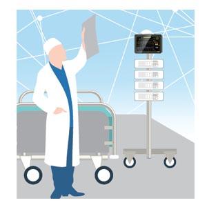 Datorplatta för vården MD101