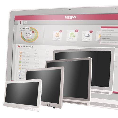 Panel-PC med hotswap Venus-serien från ONYX