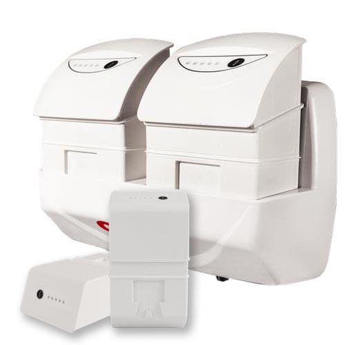 Batteri-backup till medicinskt godkända datorer