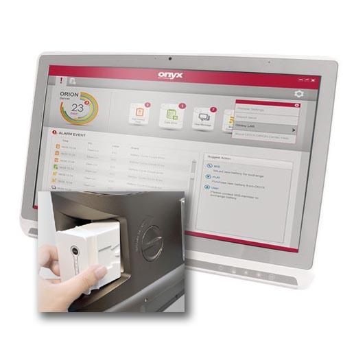 Panel-PC med hotswap-batteri från ONYX